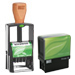 2000 PLUS® Self-Inking Custom Stamps; Green Line